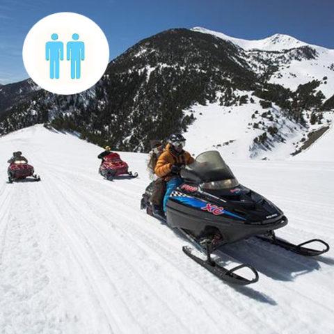 Mushing + Moto de nieve