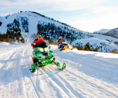 Motos-de-neu-Andorra  Moto de nieve doble en Andorra 30 min Motos de neu Andorra 500x417
