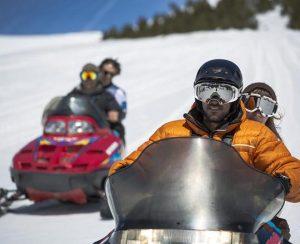 Motos de nieve  Moto de nieve doble en Andorra 30 min Motos de nieve 300x244